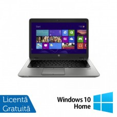 Laptop HP EliteBook 820 G1, Intel Core i5-4300U 1.90GHz, 4GB DDR3, 320GB SATA, Webcam, 12.5 Inch + Windows 10 Home