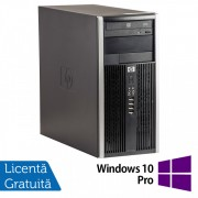 Calculator HP 6200 Tower, Intel Core i3-2100 3.10GHz, 4GB DDR3, 250GB SATA, DVD-ROM + Windows 10 Pro (Top Sale!)
