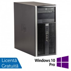 Calculator HP 6200 Tower, Intel Core i5-2400 3.10GHz, 4GB DDR3, 250GB SATA, DVD-ROM + Windows 10 Pro (Top Sale!)