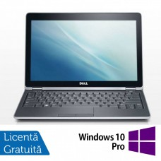 Laptop Dell Latitude E6220, Intel Core i3-2330M 2.20GHz, 4GB DDR3, 120GB SSD, 12.5 Inch, Webcam + Windows 10 Pro