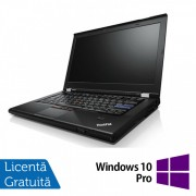 Laptop Lenovo ThinkPad T420, Intel Core i5-2520M 2.50GHz, 4GB DDR3, 120GB SSD, DVD-RW, 14 Inch, Webcam + Windows 10 Pro