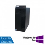 Calculator Lenovo Thinkcentre M72E Tower, Intel Core i5-3470 3.20GHz, 4GB DDR3, 250GB SATA, DVD-RW + Windows 10 Pro