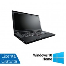 Laptop Lenovo ThinkPad W520, Intel Core i7-2860QM 2.50GHz, 8GB DDR3, 320GB SATA, Nvidia Quadro 1000 2GB, Webcam, 15.6 Inch + Windows 10 Home