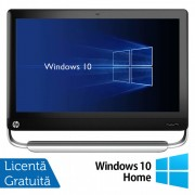 All In One HP TouchSmart Elite 7320, 21.5 Inch Full HD LED, Intel Core i3-2120 3.30GHz, 4GB DDR3, 500GB SATA, DVD-ROM, Webcam, Fara picior + Windows 10 Home