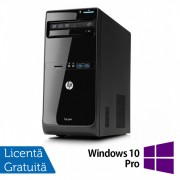 Calculator HP Pro 3500 Tower, Intel Core i3-3220 3.30GHz, 4GB DDR3, 250GB SATA, DVD-RW + Windows 10 Pro