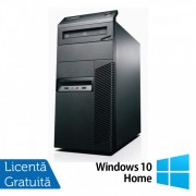 Calculator LENOVO ThinkCentre M82 Tower, Intel Core i5-3470 3.20 GHz, 4GB DDR3, 500GB SATA, DVD-RW + Windows 10 Home