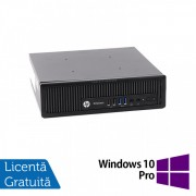 Calculator HP EliteDesk 800 G1 USDT, Intel i5-4590s 3.00GHz, 4GB DDR3, 320GB SATA + Windows 10 Pro