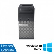 Calculator Dell OptiPlex 3010 Tower, Intel Core i7-3770 3.40GHz, 8GB DDR3, 500GB SATA, DVD-RW + Windows 10 Home