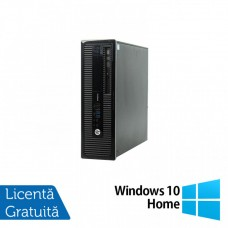 Calculator HP 400 G1 SFF, Intel Core i7-4770 3.40GHz, 4GB DDR3, 500GB SATA, DVD-RW + Windows 10 Home