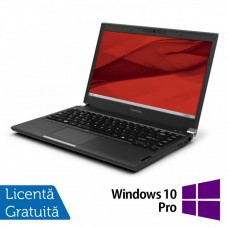 Laptop Toshiba Portege R930, Intel Core i5-3340M 2.70GHz, 4GB DDR3, 120GB SSD, DVD-RW, 13.3 Inch, Webcam + Windows 10 Pro