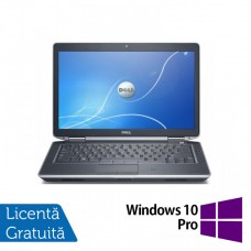 Laptop DELL Latitude E6430, Intel Core i5-3230M 2.60GHz, 4GB DDR3, 120GB SSD, DVD-RW, 14 Inch + Windows 10 Pro
