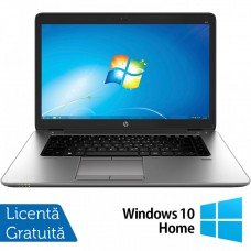 Laptop HP EliteBook 850 G1, Intel Core i5-4300U 1.90GHz, 4GB DDR3, 500GB SATA, 15.6 Inch, Webcam + Windows 10 Home