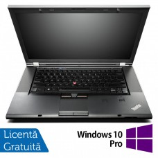 Laptop Lenovo ThinkPad W530, Intel Core i7-3720QM 2.60GHz, 8GB DDR3, 240GB SSD, nVIDIA Quadro K1000M 2GB DDR3/128-bit, DVD-RW, 15.6 Inch Full HD, Webcam + Windows 10 Pro