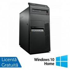 Calculator Lenovo Thinkcentre M83 Tower, Intel Core i7-4770 3.40GHz, 8GB DDR3, 120GB SSD, DVD-ROM + Windows 10 Home